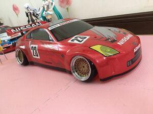 送料無料 1/10 日産 フェアレディZ Z33 ニスモ レースカー ラジコン ボディ NISSAN FAIRLADYZ NISMO タミヤ TAMIYA