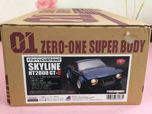 送料無料 1/10 日産 スカイライン HT2000 GT-R ハコスカ オーバーフェンダー ABC HOBBY NISSAN SKYLINE ラジコン ボディ ABCホビー