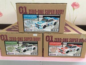 送料無料 1/10 日産 スカイライン 2000 GT-R ハコスカ レーシング ラジコン ボディ セット ABC HOBBY NISSAN SKYLINE ABCホビー