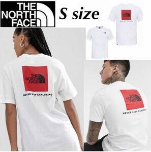 ザ ノースフェイス Tシャツ レッドボックス 半袖 NF0A2TX2 ロゴ バックロゴ ホワイト Sサイズ THE NORTH FACE SS RED BOX TEE 新品