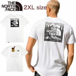 ノースフェイス Tシャツ レッドボックス 半袖 NF0A2ZXE ホワイト 2XLサイズ THE NORTH FACE S/S REDBOX CELEBRATION TEE 新品