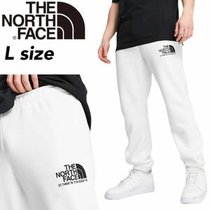 ザ ノースフェイス ボトムス ジョガー パンツ 裏起毛 NF0A55UT スウェット ホワイト Lサイズ THE NORTH FACE COORDINATES PANT 新品