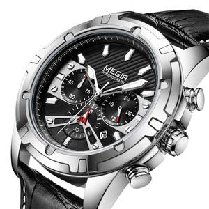 新品 新作 腕時計 メンズ腕時計 アナログ クォーツ式 クロノグラフ ビジネスウォッチ 豪華 高級 大人気 ルミナス 防水★UTM93-2102シルバー