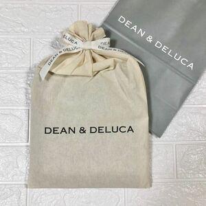 DEAN&DELUCA エプロン ブラック ラッピング ディーン&デルーカ ディーンアンドデルーカ モノトーン プレゼント 紙袋
