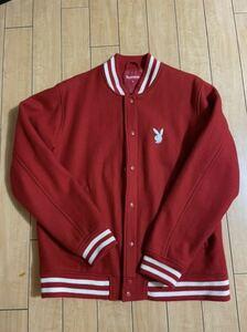 supreme playboy varsity jacket 11ss