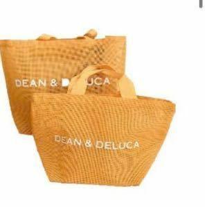 DEAN&DELUCA メッシュトートバッグオレンジ