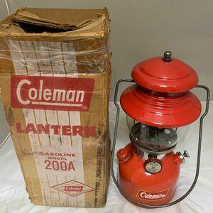 コールマン 200a 1961年6月 イエローボーダー