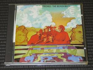 ◆The Beach Boys◆ ビーチ・ボーイズ Friends フレンズ CD 国内盤 帯有り
