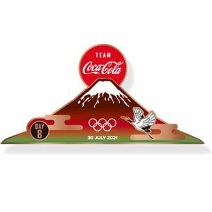 コカコーラ 非売品 レア ピンバッチ 東京2020 オリンピック