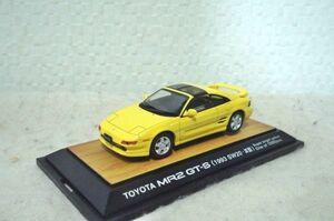 トヨタ MR2 GT-S (1993 SW20・Ⅲ型) 1/43 ミニカー イエロー