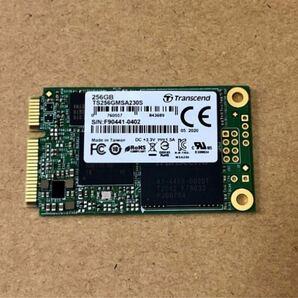 新品同様 Transcend TS256GMSA230S 3D チップ mSATA 256GB SSD SATA 3.0
