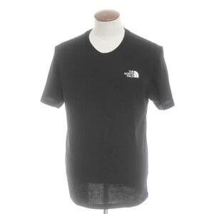 未使用 ザ ノースフェイス THE NORTH FACE コットン天竺 クルーネック 半袖Tシャツ M ブラック