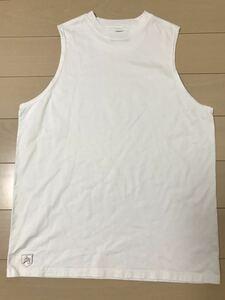 BIGサイズ AVIREX ノースリーブシャツ ワンポイント ホワイト 2XL タンクトップ 白