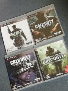 コール オブ デューティシリーズ【Call of Duty】4本セット