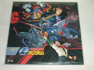 (LD:レーザーディスク)機動武闘伝Gガンダム vol.1【中古】