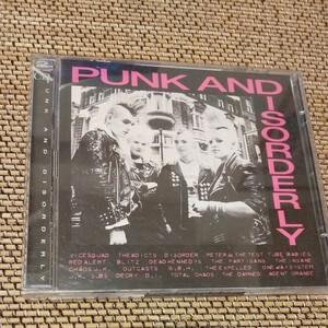CD PUNK AND DISORDERLY 激レア 2CD