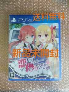 新品未開封 送料無料 PS4 ソフト 恋愛、借りちゃいました / PlayStation4 プレステ4 美少女ゲーム ギャルゲー エンターグラム 即決設定
