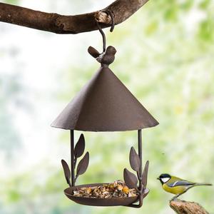 【特売】餌箱 鳥 庭 ガーデニング おしゃれ かわいい 装飾 プレゼント ギフト ペット 屋外 鳥給餌用品 バードウォッチング A