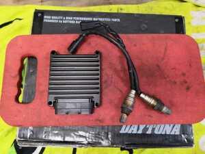 車検用 FLTR TC96 1580 (2007) 外し 純正エンジンコントロールモジュールとO2センサーのセット 実働中古品