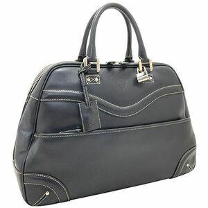 ● グッチ ハンドバッグ クレスト ボストンバッグ レザー 革 ブラック 黒 141440 GUCCI 紋章 トートバッグ 手提げ バッグ バック カバン 鞄