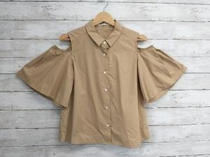 RAY /レイビームス/カタアキフレア/コットンBEG/6318S-4069-2 半袖シャツ・ブラウス