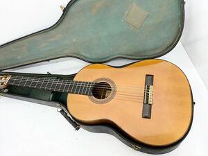 (ヤ-9) Guitarra Tamura 田村廣 C44 クラシックギター ガットギター ハードケース付属 1966 楽器 弦楽器 ギター