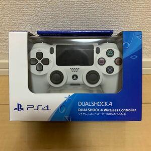PS4 ワイヤレスコントローラー(DUALSHOCK4) グレイシャー・ホワイト CUH-ZCT2J13