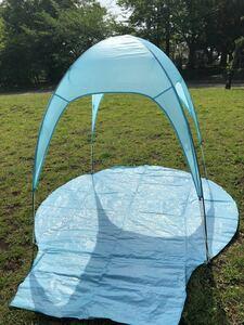 サンシェードタープ スマイル ビーチテント キャンプ用品
