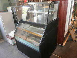 ☆中古品 サンヨー(SANYO) 対面冷蔵ショーケース SRM-900KNT 2011年製 190L ☆