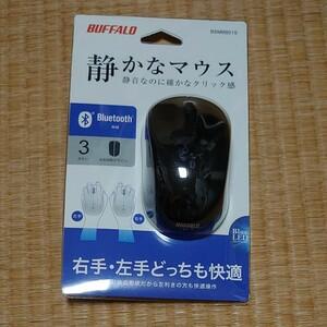 バッファロー BUFFALO 静音マウス 無線 ワイヤレス Bluetooth BSMBB21Sシリーズ BSMBB21SBK 黒