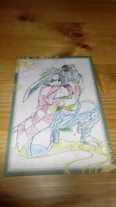 竈門炭治郎 ポストカード 「鬼滅の刃×ufotable DINING 第3期」 お楽しみくじ Wチャンス賞 おすそ分け景品