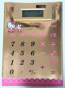ハローキティ ソーラー 電卓 マグネット式