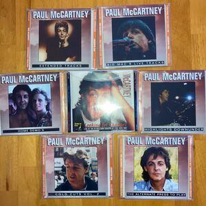 ポールマッカートニー Paul McCartney collectors CD 7枚 ビートルズ Beatles
