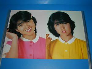 ◆【伊藤つかさ】劇団いろはポスター/横版/2コマ/昭和年代物新品