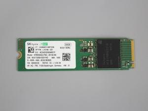 ●送料無料 累計使用時間319H hynix HFM256GDJTNG■M.2 NVMe 256GB SSD 2280 動作確認済み