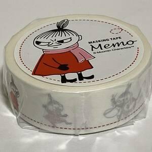 Moomin ムーミン キャラクターズ マスキングテープ メモ / リトルミイ メッセージ・覚書・マステ (未開封 未使用品)