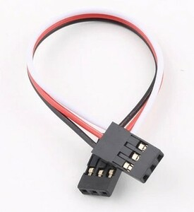 ラジコンカーなどに 15cm 両オスサーボ延長コード FUTABA JR共用