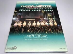 [Blu-ray/ブルーレイ/即決価格]『THE IDOLM@STER 4th ANNIVERSARY PARTY SPECIAL DREAM TOUR'S!!』アイドルマスター/アイマス/セル/正規品