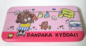 80s Vintage Tanpopo Milky Land Panpaka Kyodai 缶ペンケース/筆箱 ピンク 当時物 ファンシー文具 グッズ 筆記用具 80年代/昭和レトロ