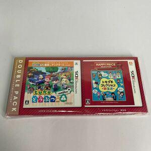 9【送料無料】『とびだせ どうぶつの森 amiibo+・トモダチコレクション 新生活』ダブルパック - 3DS