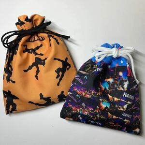 給食袋 コップ袋 巾着袋 2枚セット