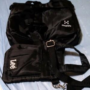 モノマックス付録 ミニヘルメットバッグとLeeヘルメットバッグ型ミニショルダーショルダー 2つセットとピカチュウのおふとんおまけ