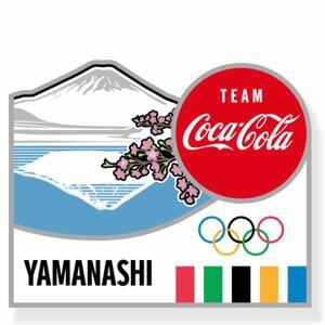 コカ・コーラ 東京2020 ピンバッチ 山梨県 オリンピック