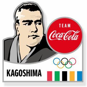 コカ・コーラ ピンバッチ 東京2020 オリンピック 鹿児島県