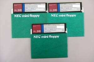 NEC PC-9800 パッケージ 5インチ FDD 2HD フロッピーディスク PC-9800 PC-368/468