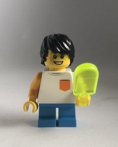新品 即決 未使用 レゴ LEGO ミニフィグ ミニフィギュア シティ アイスクリーム 男の子 子供