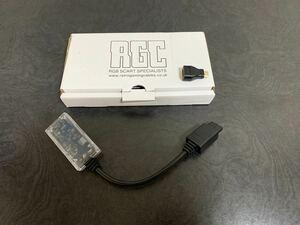Super Nintendo N64 GameCube RAD2X cable +miniHDMI toHDMIアダプタ