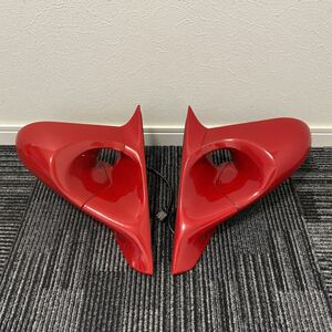 used super rare out of print goods Mazda RX-8 RX8 Mazda Speed Ganador aero door mirror left right set red red