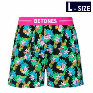 BETONES ビトーンズ 【Trunks】RESORT BLACK メンズ トランクス 【Lサイズ】【送料無料】