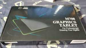 【ジャンク品】UGEE ペンタブレット M708 USB式 本体のみ